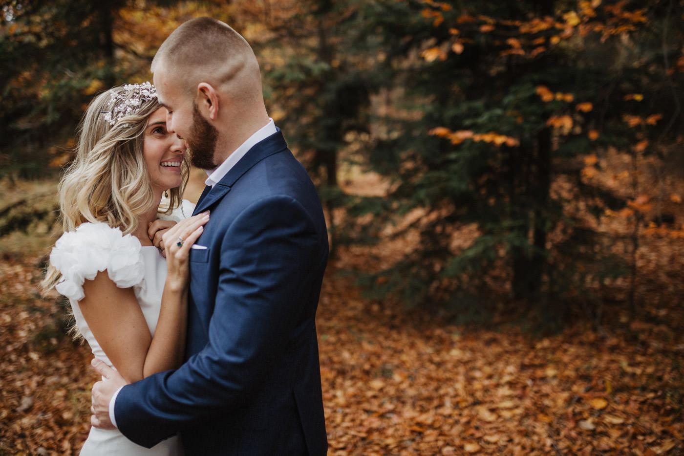 Jesienna sesja ślubna Fużyński Fotografia