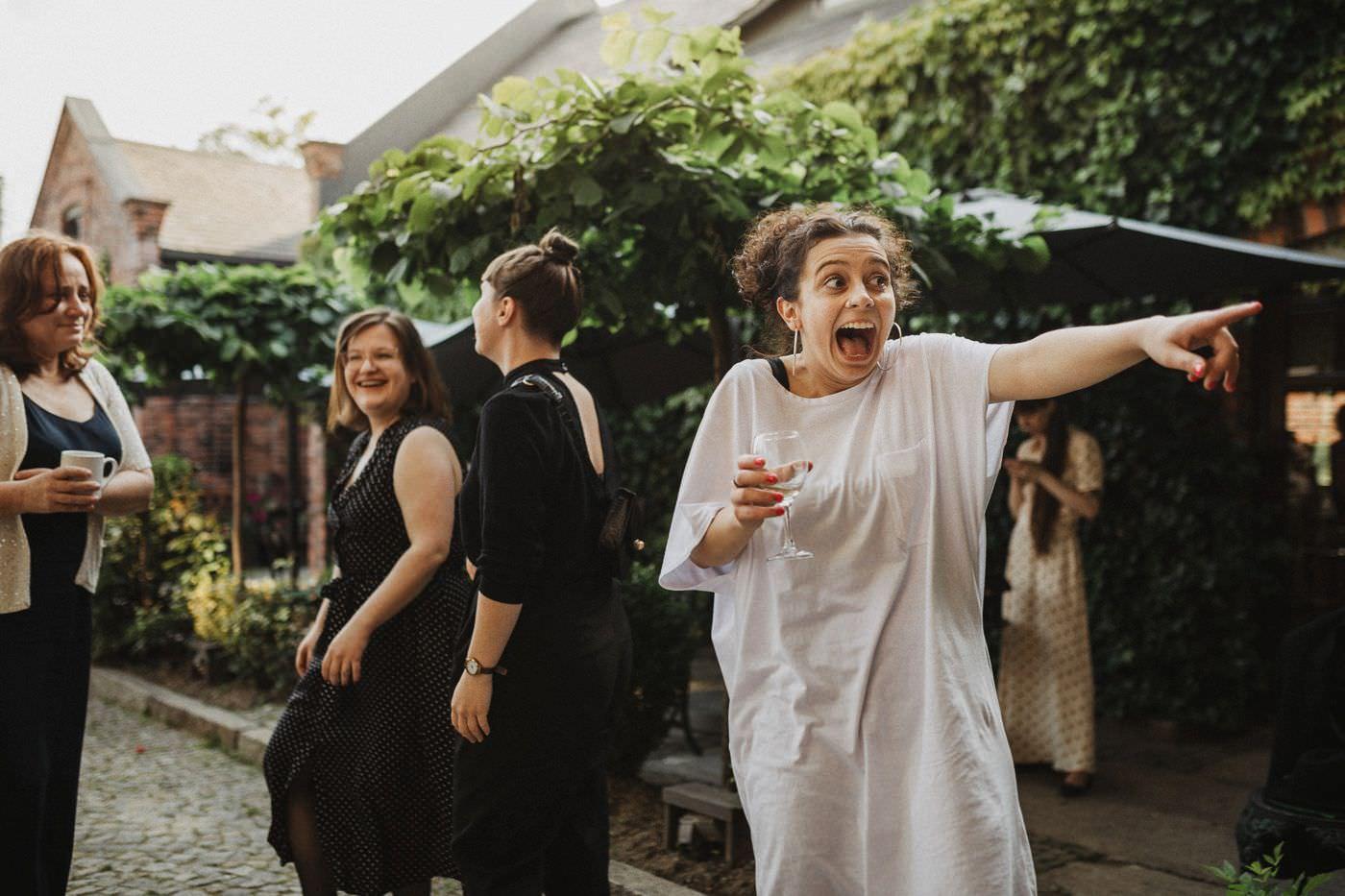 Alternatywny ślub cywilny w plenerze - Folwark Białych Bocianów